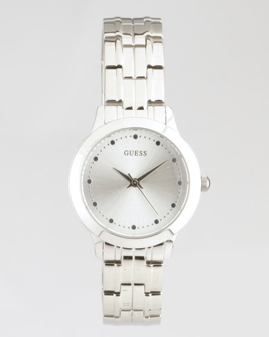 Guess Chelsea Bracelet Watch Silver-Plated