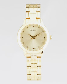 Guess Chelsea Bracelet Watch Gold-Plated