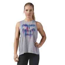 W CF Muscle Tank- Sublimated