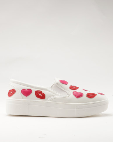 for nice cheap online Madison Madison Valerie Slip Ons White sale outlet 2014 cheap sale cheap latest collections fake cheap price f1pVqWKD