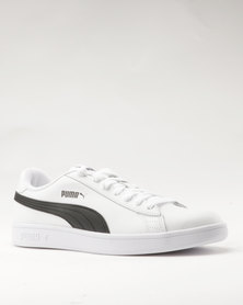 Puma Smash v2 L Puma White-Puma Black