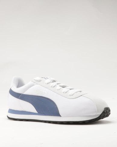 11e54df994e Puma Turin NL Puma White-Blue Indigo