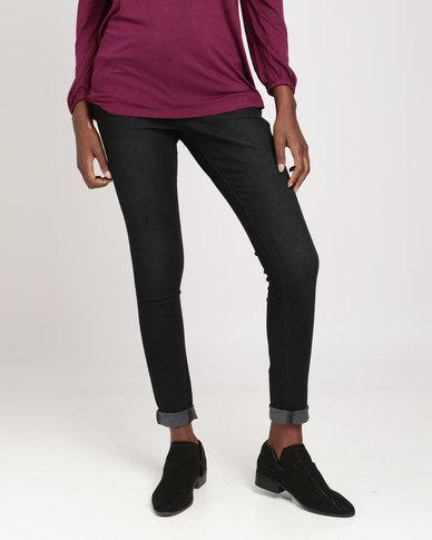 Brave Soul 5 Pocket Jeans Black