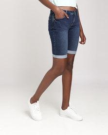 Legit Bermuda Short Denim Shorts Ink