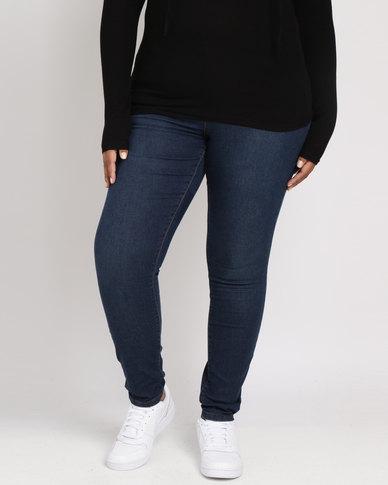 Brave Soul 5 Pocket Jeans Dark Denim