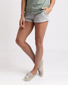 Roxy Cozy Chill Shorts Grey