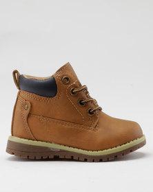 AWOL Boys I Casual Sneaker Tan