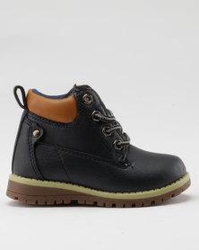 AWOL Boys I Casual Sneaker Navy