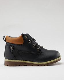 AWOL Boys Casual Sneaker Navy