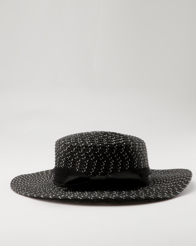 Joy Collectables Summer Hat Black
