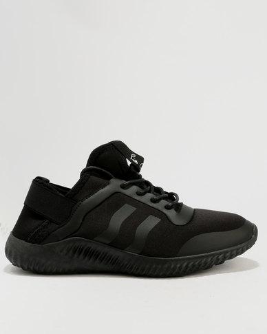Pierre Cardin Sport Inspired Sneaker Black