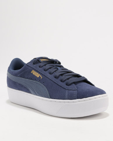 Puma Puma Vikky Platform Blue Indigo-Blue Indigo discount newest discount codes really cheap sneakernews cheap price sale with paypal 2MoUb