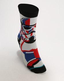 Stance Boys Trooper Mosaic Socks Multi