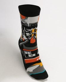 Stance Boys Pilot Mosaic Socks Multi