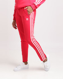 adidas Super Star Track Pants Radiant Red