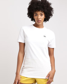 Styling Compliments Short Sleeve T-Shirt White