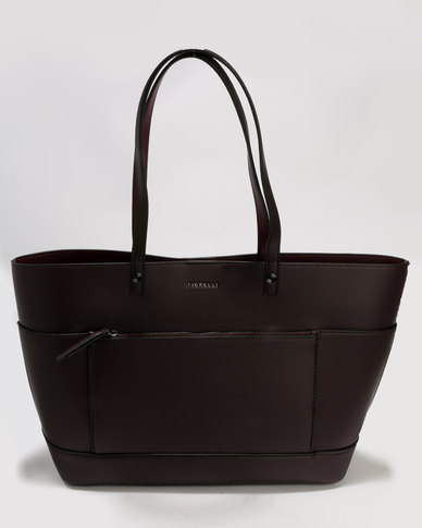 Fiorelli 247 Bucket Tote Bag Aubergine