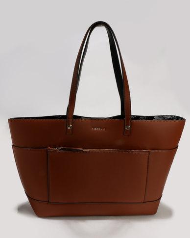 Fiorelli 247 Bucket Tote Bag Tan