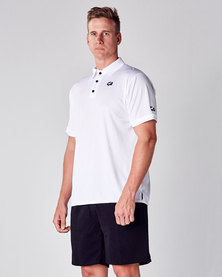 Custom Apparel Premium Golf Shirt - White