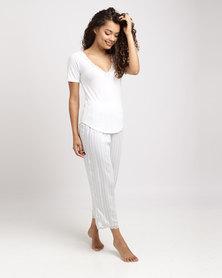 Women'secret Pyjama Set 98 Black