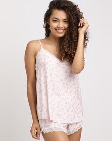 Women'secret  Pyjama Set 98 Pink