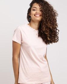 Women'secret Pyjama Top 70 Pink