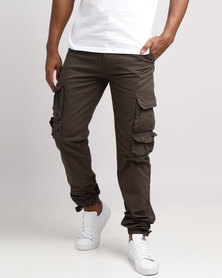 KG Classic Cargo Pants Olive