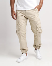 KG Classic Cargo Pants Khaki