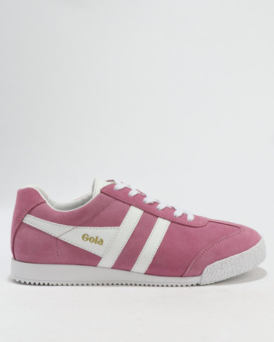cheap sale eastbay Gola Gola Harrier Suede Sneakers Dusty Pink & White outlet for cheap KpLjctc