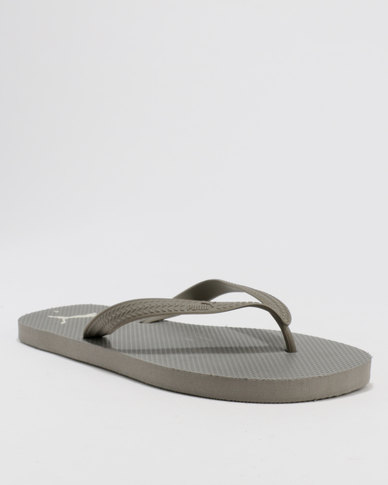 best quality for world-wide renown harmonious colors Puma First Flip Flop DP Grey