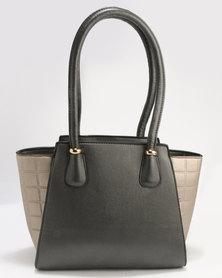 Blackcherry Bag Smart Tote Handbag Pewter