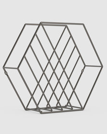 UMBRA Zina Magazine Rack Metal
