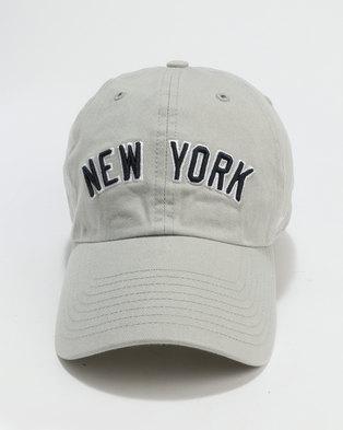 47 Brand 47 Clean Up New York Cap Grey 5b2f6c6768f