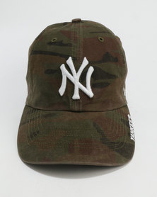 47 Brand 47 Clean Up New York Cap Olive Green