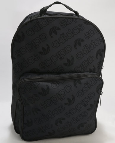 adidas Classic Backpack Trefoils Black  044e27eeed440