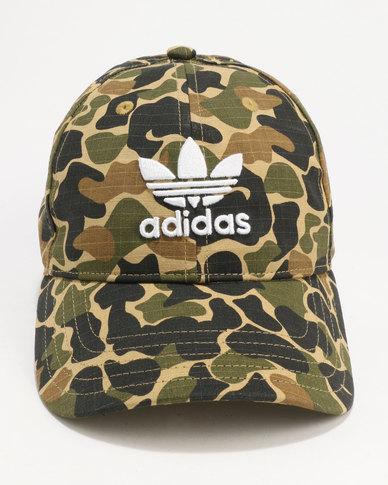 adidas Camo Baseball Cap Dark Sahara  9b002424e4c