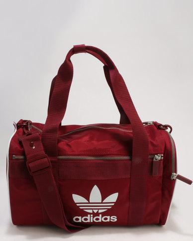 adidas Duffel Bag M Adicolour Red