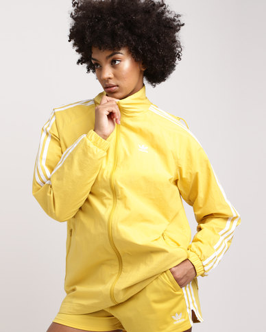 adidas Stadium Jacket Corn Yellow  ba1550b8c8b
