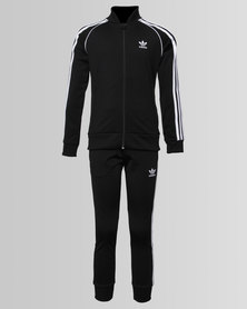 adidas Large Trefoil Superstar Tracksuit Black