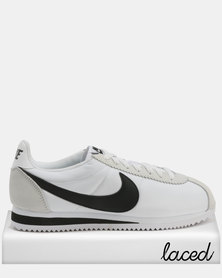 Nike Classic Cortez Nylon White/Black-Light Bone