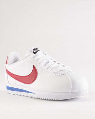 d450b38da0aea8 Nike Classic Cortez Leather White Varsity Red-Varsity Royal