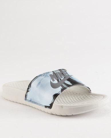Shoes Nike Benassi Just Do It Sandals Light Bone/Light Carbon/Light Bone BNEOEB