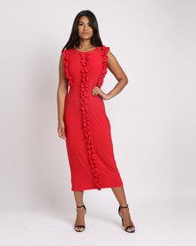 Famous Vixen Dress Red