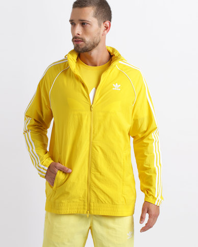 newest 21659 98d94 adidas Superstar Windbreaker Yellow   Zando