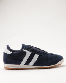 Madison Jazzy Retro Sneaker Navy Blue