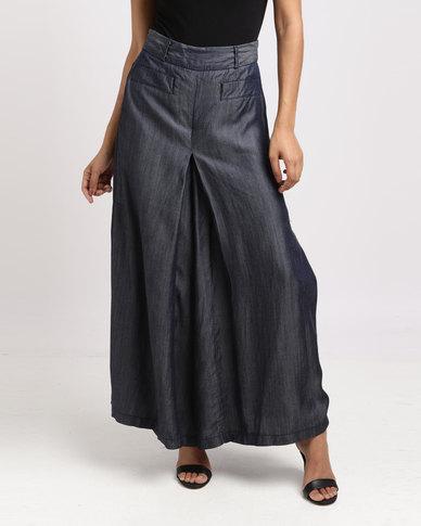 Vero Moda Tencil Denim Culotte Blue