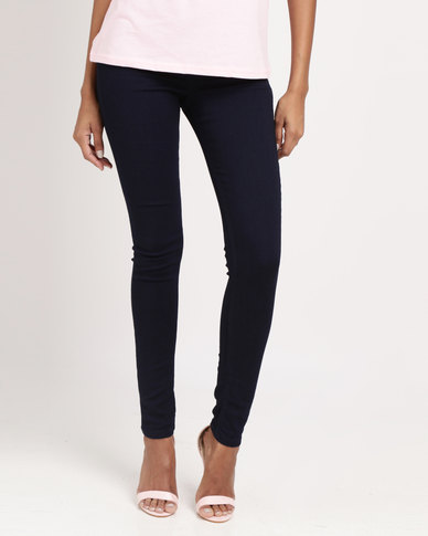 Legit Push Up Skinny Denim Ink