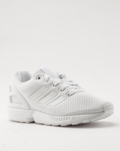 quality design 6685b c7aae adidas ZX Flux White