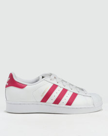 adidas Superstar Foundation J Sneakers White/Pink