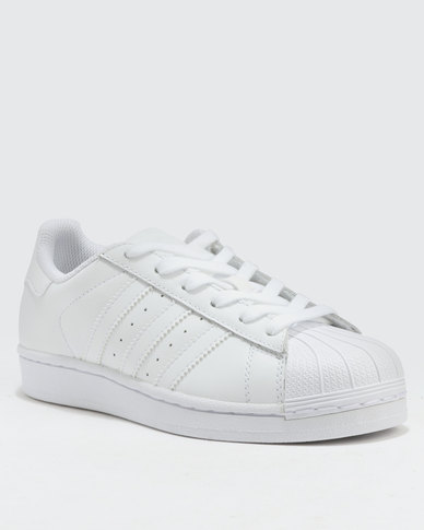 best sneakers 65ca3 5183a adidas Superstar Foundation J Sneakers White   Zando